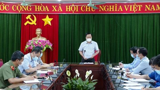 Đ.c Hồ Tiến Thiệu, Chủ tịch UBND tỉnh phát biểu chỉ đạo tại buổi kiểm tra .jpg