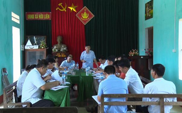 Đc Đỗ Đức Thịnh - UV BCH Đảng bộ huyện, Phó Chủ tịch HĐND huyện kết luận buổi giám sát.jpg